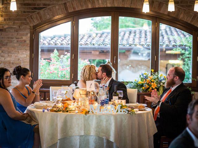 Il matrimonio di Amber e Jonh a Saludecio, Rimini 1
