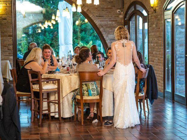 Il matrimonio di Amber e Jonh a Saludecio, Rimini 23