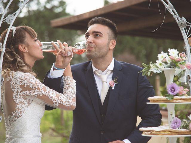 le nozze di Alessandra e Stefano