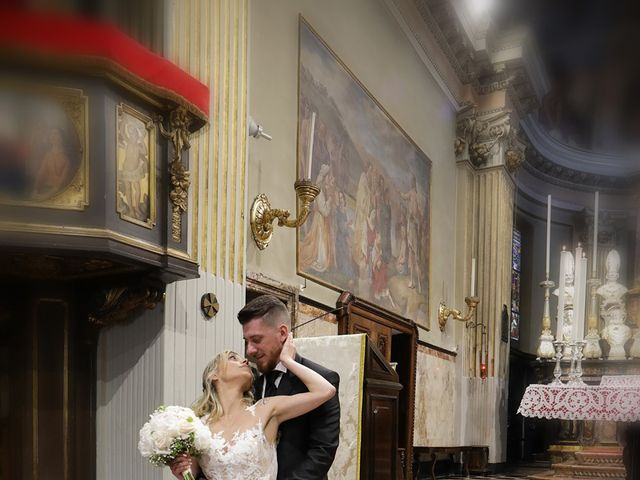 Il matrimonio di Massimo e Assunta a San Giuliano Milanese, Milano 79