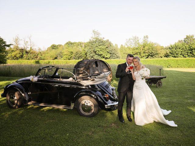 Il matrimonio di Massimo e Assunta a San Giuliano Milanese, Milano 92