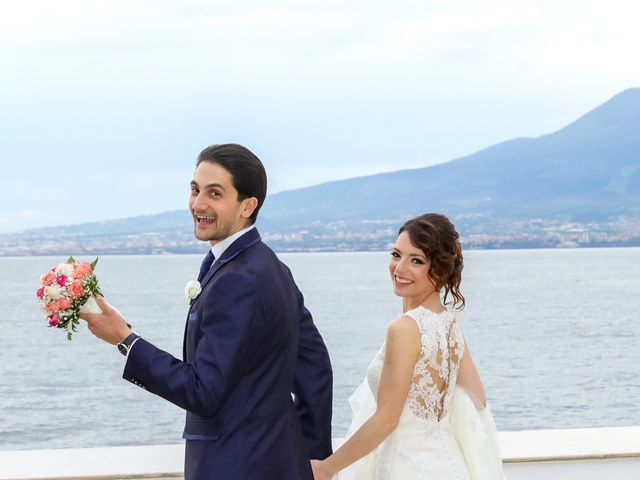 Il matrimonio di Alexander e Cristina a Sorrento, Napoli 43