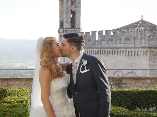 Il matrimonio di Giovanni e Cristina a Gubbio, Perugia 17