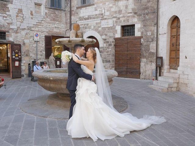Il matrimonio di Giovanni e Cristina a Gubbio, Perugia 18