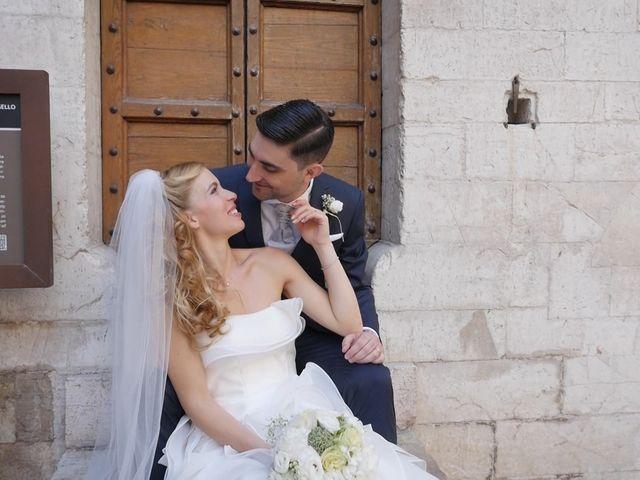 Il matrimonio di Giovanni e Cristina a Gubbio, Perugia 1