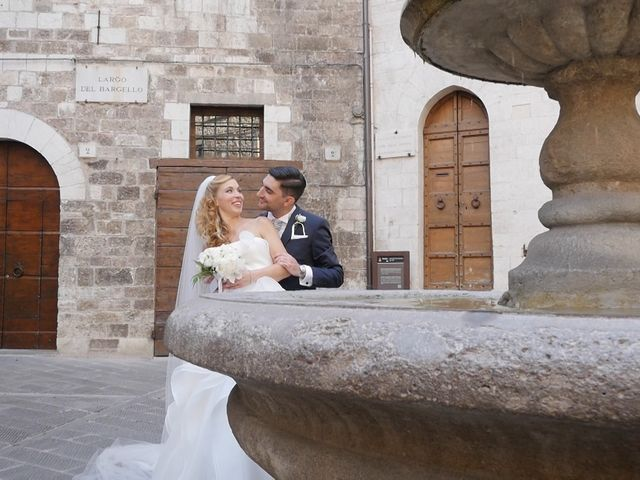 Il matrimonio di Giovanni e Cristina a Gubbio, Perugia 19