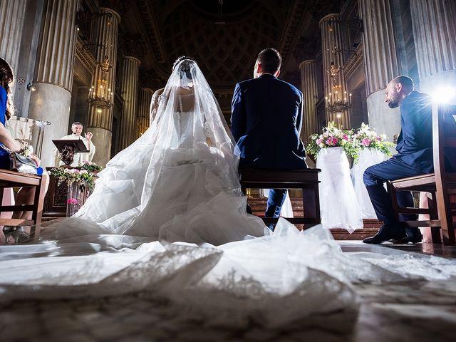 Il matrimonio di Matteo e Sara a Santhià, Vercelli 34