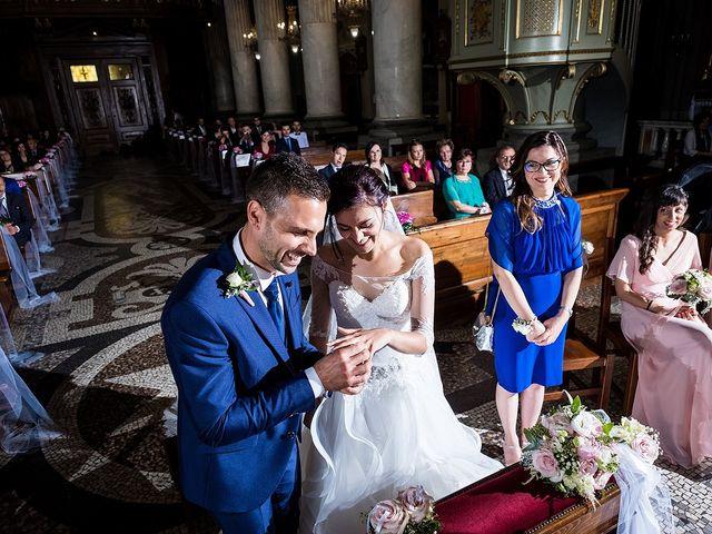 Il matrimonio di Matteo e Sara a Santhià, Vercelli 35