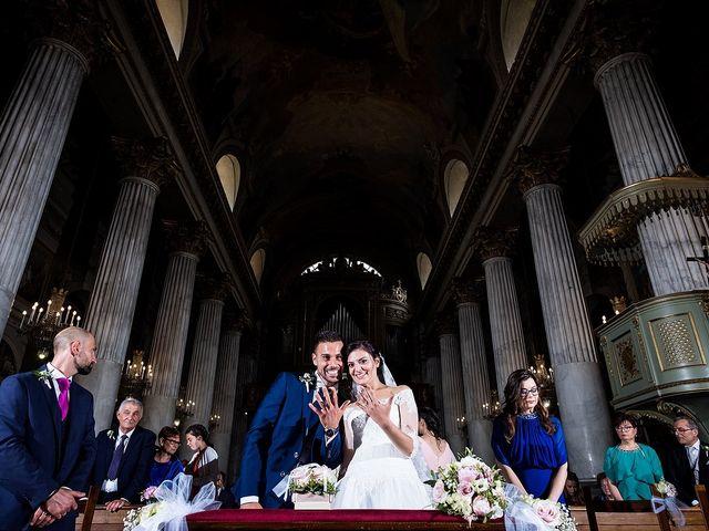 Il matrimonio di Matteo e Sara a Santhià, Vercelli 41