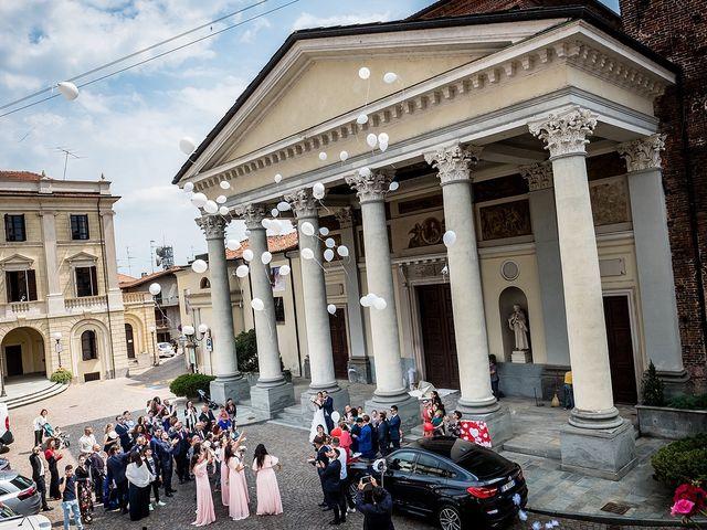 Il matrimonio di Matteo e Sara a Santhià, Vercelli 47