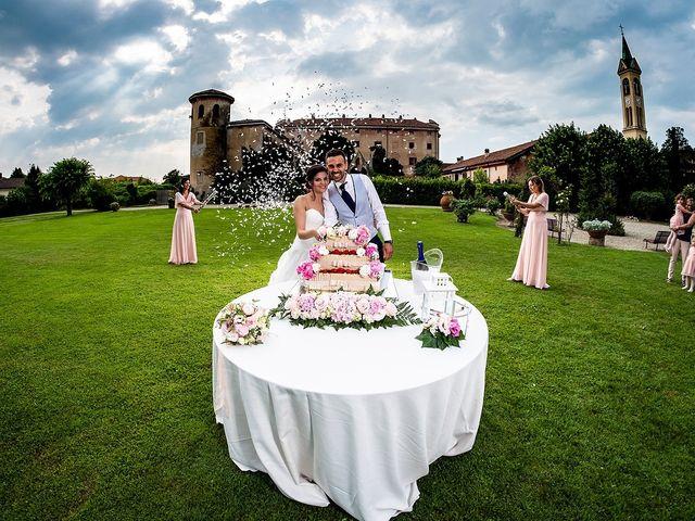 Il matrimonio di Matteo e Sara a Santhià, Vercelli 80