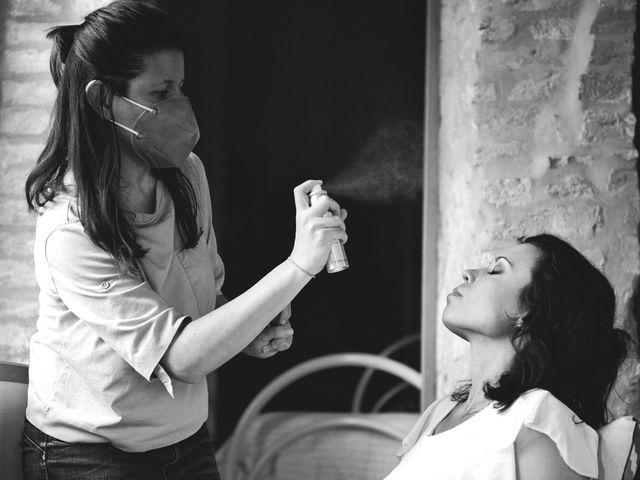 Il matrimonio di Simone e Ambra a Castelfiorentino, Firenze 16