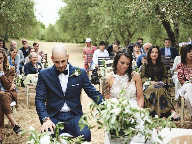 Il matrimonio di Simone e Ambra a Castelfiorentino, Firenze 19