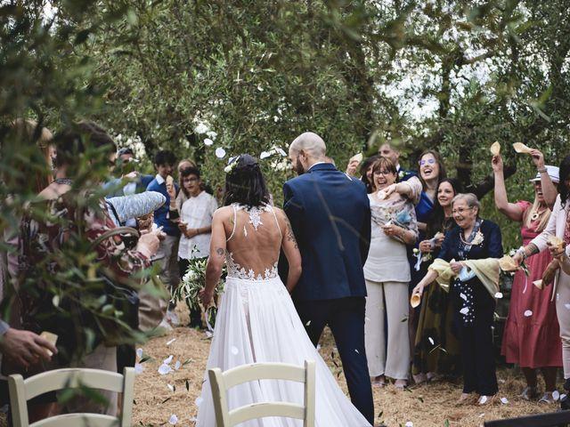 Il matrimonio di Simone e Ambra a Castelfiorentino, Firenze 22