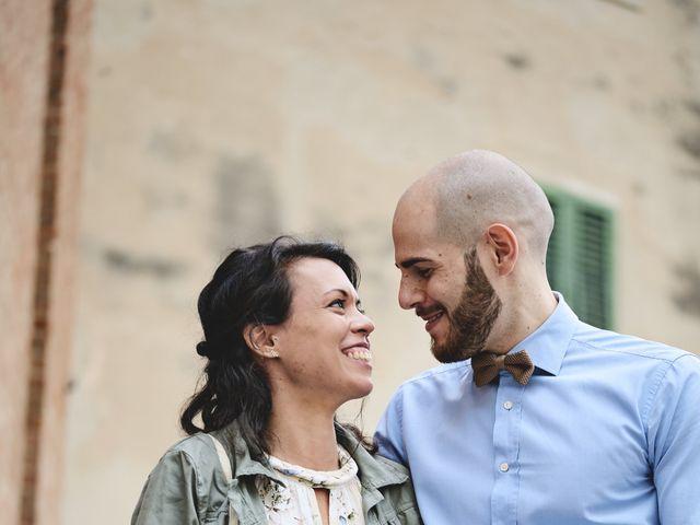 Il matrimonio di Simone e Ambra a Castelfiorentino, Firenze 27