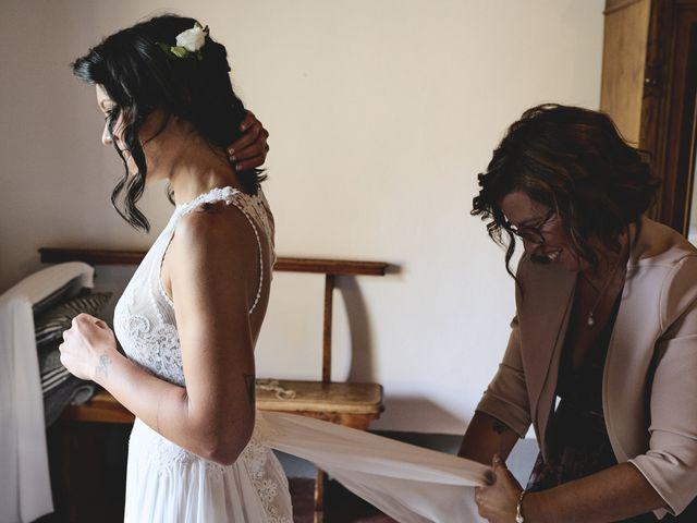 Il matrimonio di Simone e Ambra a Castelfiorentino, Firenze 33