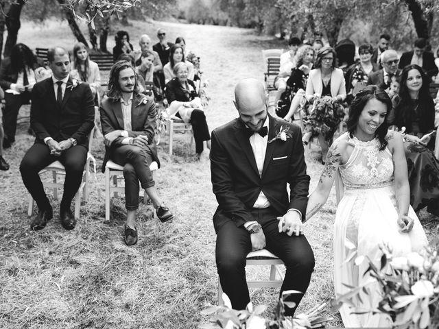 Il matrimonio di Simone e Ambra a Castelfiorentino, Firenze 36