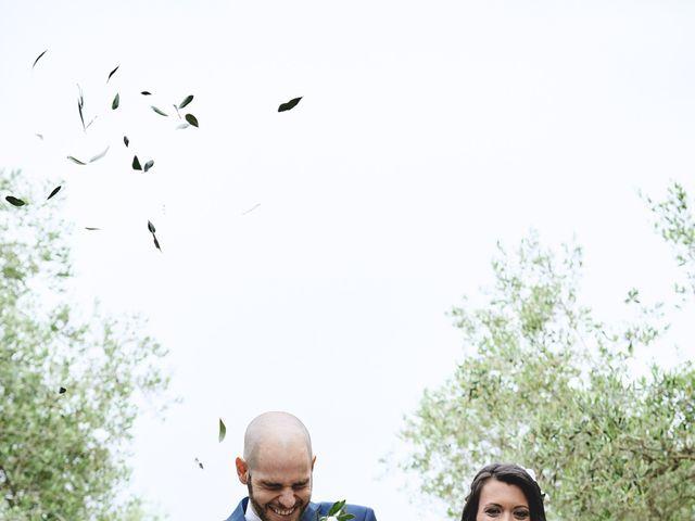 Il matrimonio di Simone e Ambra a Castelfiorentino, Firenze 40