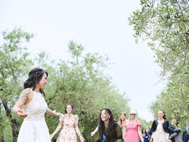 Il matrimonio di Simone e Ambra a Castelfiorentino, Firenze 41