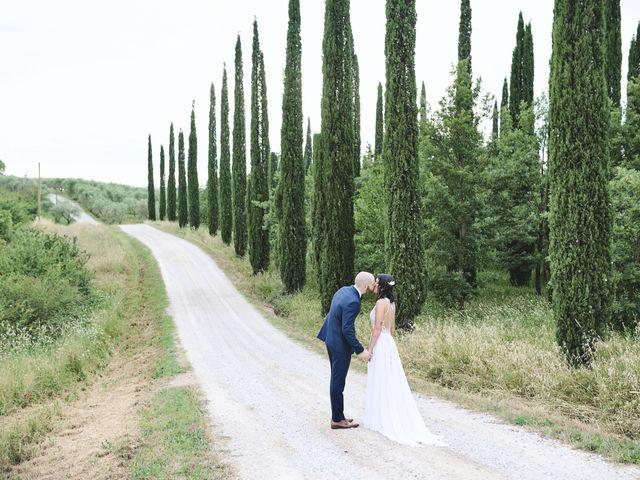 Il matrimonio di Simone e Ambra a Castelfiorentino, Firenze 43