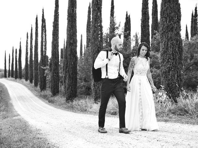 Il matrimonio di Simone e Ambra a Castelfiorentino, Firenze 44