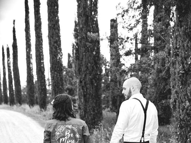 Il matrimonio di Simone e Ambra a Castelfiorentino, Firenze 46