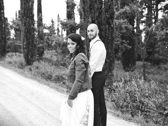 Il matrimonio di Simone e Ambra a Castelfiorentino, Firenze 47