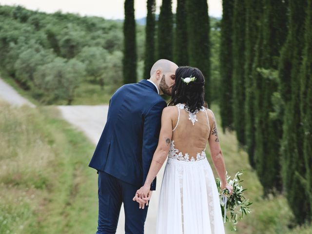 Il matrimonio di Simone e Ambra a Castelfiorentino, Firenze 64