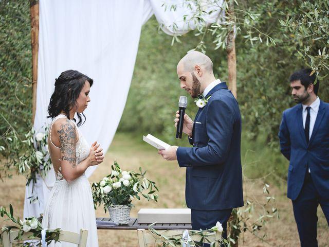Il matrimonio di Simone e Ambra a Castelfiorentino, Firenze 77