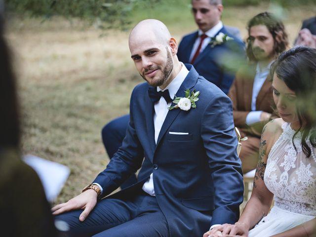 Il matrimonio di Simone e Ambra a Castelfiorentino, Firenze 78