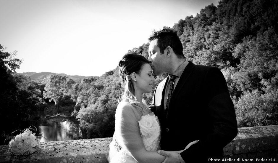 Il matrimonio di Mauro e Virginia a Ischia di Castro, Viterbo