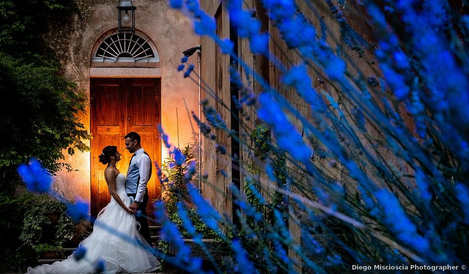 Il matrimonio di Matteo e Sara a Santhià, Vercelli