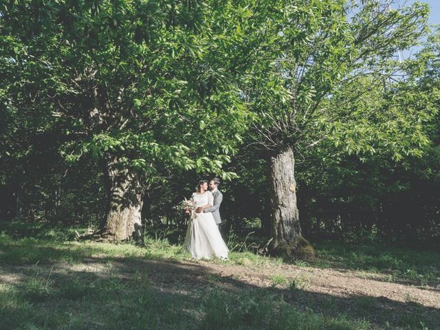le nozze di Michela e Chris