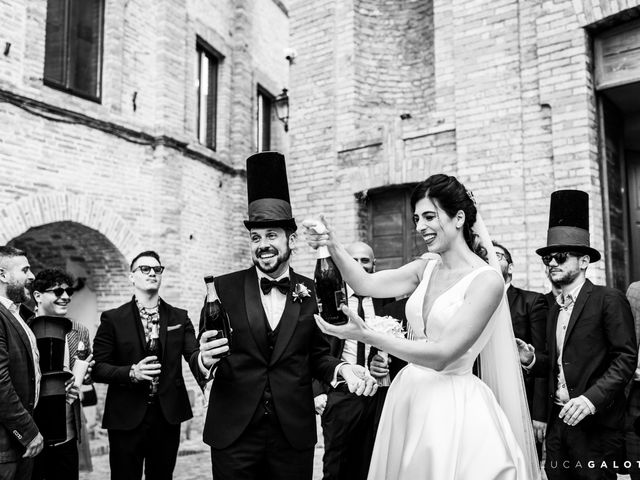 Il matrimonio di Simona e Stefano a Grottammare, Ascoli Piceno 78