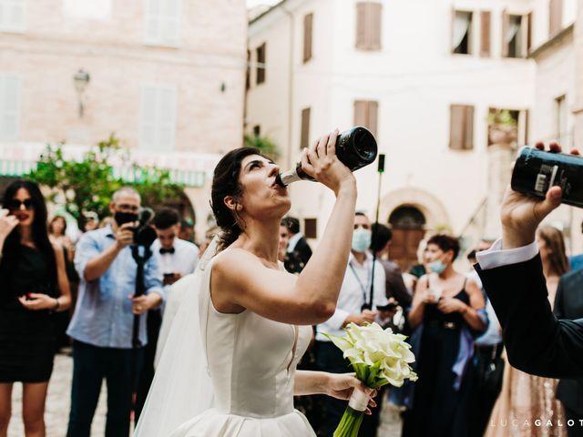 Il matrimonio di Simona e Stefano a Grottammare, Ascoli Piceno 79