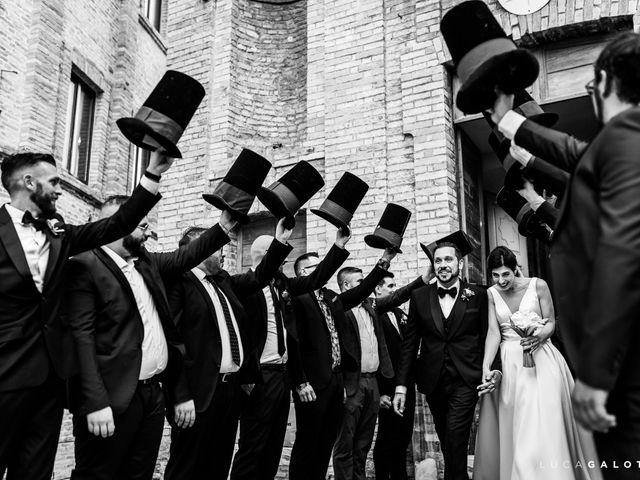 Il matrimonio di Simona e Stefano a Grottammare, Ascoli Piceno 80