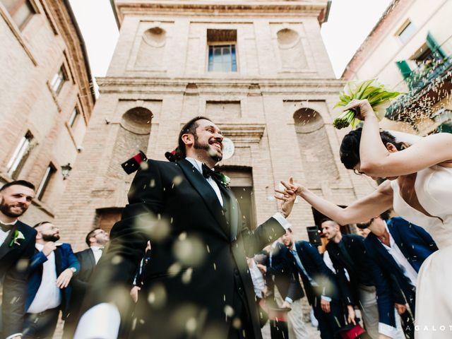 Il matrimonio di Simona e Stefano a Grottammare, Ascoli Piceno 84