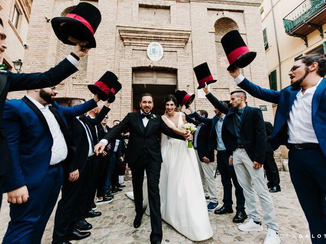 Il matrimonio di Simona e Stefano a Grottammare, Ascoli Piceno 85