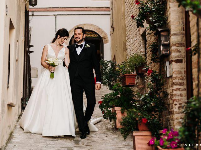 Il matrimonio di Simona e Stefano a Grottammare, Ascoli Piceno 90