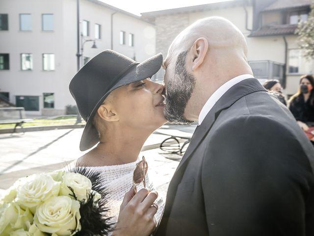 Il matrimonio di Dennis e Stefania a Capriolo, Brescia 53