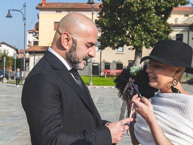 Il matrimonio di Dennis e Stefania a Capriolo, Brescia 57