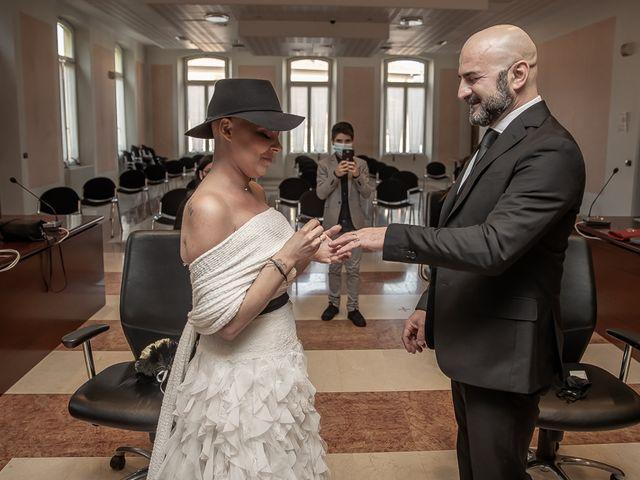 Il matrimonio di Dennis e Stefania a Capriolo, Brescia 63