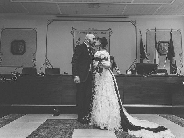 Il matrimonio di Dennis e Stefania a Capriolo, Brescia 80