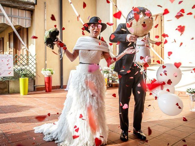 Il matrimonio di Dennis e Stefania a Capriolo, Brescia 140