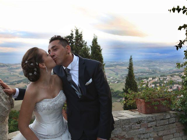 le nozze di Angela e Enos
