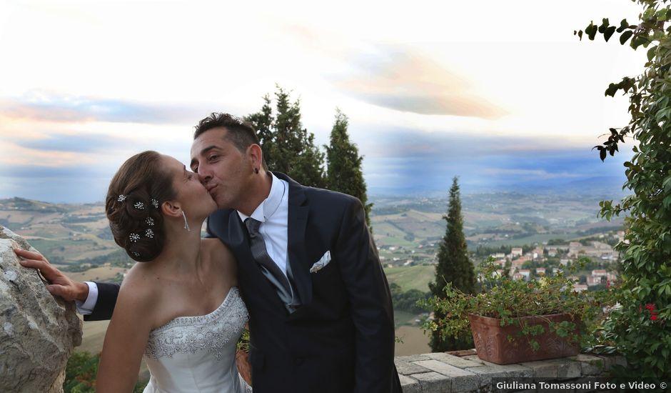 Il matrimonio di Enos e Angela a Fermo, Fermo