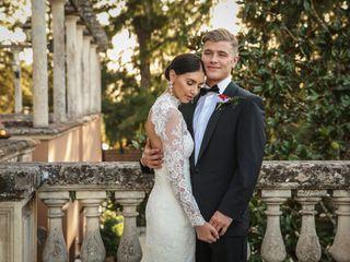 Le nozze di Catherine e Ben