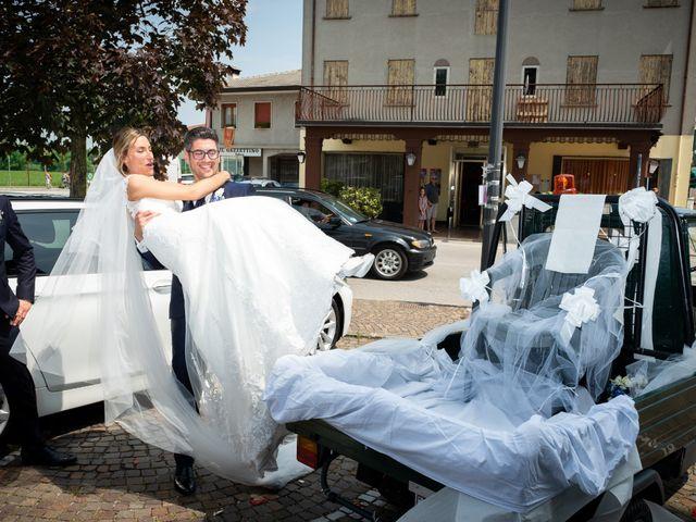 Il matrimonio di Samuele e Giulia a Trebaseleghe, Padova 45