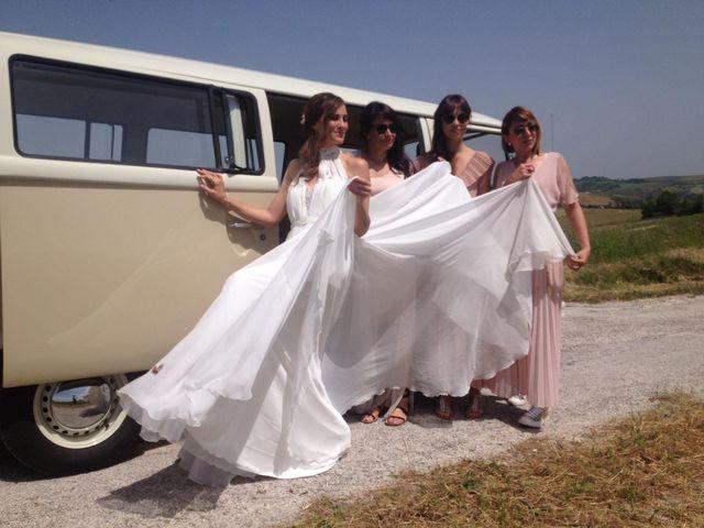 Il matrimonio di Alessandro e Sara a Montecarotto, Ancona 9