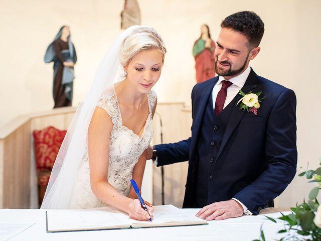 Il matrimonio di Skaiste e Leandro a Montefranco, Terni 1